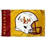 UL Monroe Warhawks Football Helmet Flag
