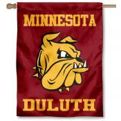 UMD Bulldogs New Logo Double Sided House Flag