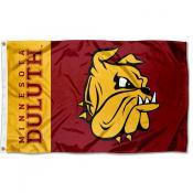 UMD Bulldogs New Logo Flag