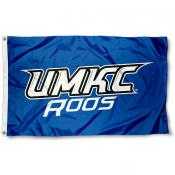 UMKC Roos Wordmark Logo Flag