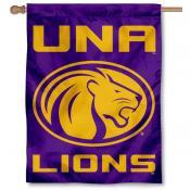 UNA Lions Banner Flag