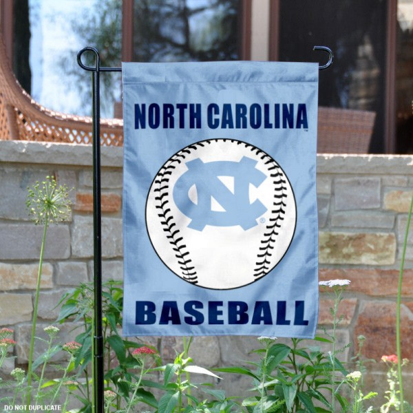 UNC Baseball Yard Flag is 13x18 inches in size, is made of 2-layer polyester, screen printed UNC Baseball athletic logos and lettering. Available with Same Day Express Shipping, Our UNC Baseball Yard Flag is officially licensed and approved by UNC Baseball and the NCAA.