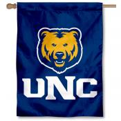 UNC Bears Double Sided House Flag