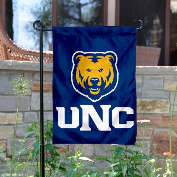 UNC Bears New Logo Garden Flag is 13x18 inches in size, is made of 2-layer polyester, screen printed university athletic logos and lettering, and is readable and viewable correctly on both sides. Available same day shipping, our UNC Bears New Logo Garden Flag is officially licensed and approved by the university and the NCAA.
