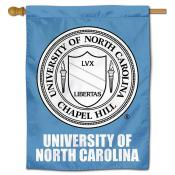 UNC Tar Heels Academic Seal House Flag