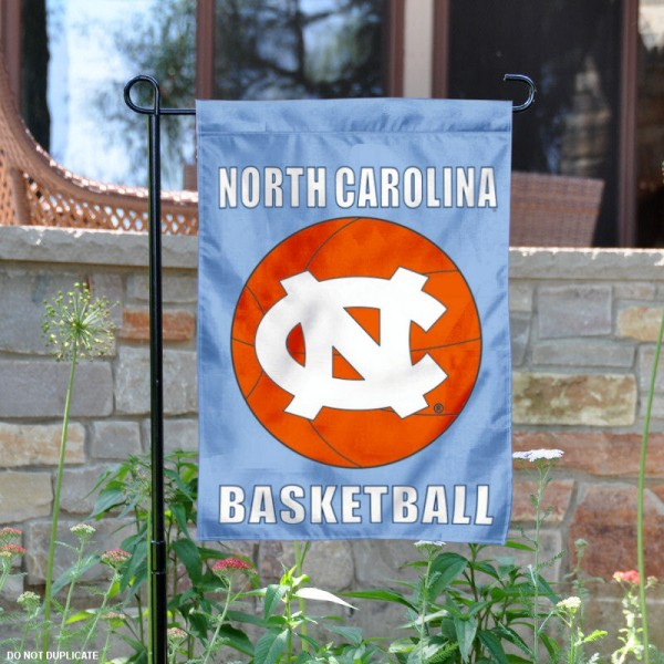 UNC Tar Heels Basketball Garden Banner is 13x18 inches in size, is made of 2-layer polyester, screen printed athletic logos and lettering. Available with Same Day Express Shipping, Our UNC Tar Heels Basketball Garden Banner is officially licensed and approved by the school and the NCAA.