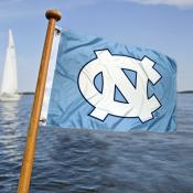 UNC Tar Heels  Nautical Flag