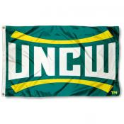 UNC Wilmington UNCW Logo Flag