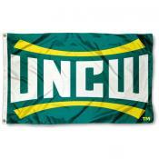 UNC Wilmington UNCW Logo Flag