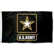 United States Army Star Logo Mark Flag