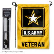 United States Army Veteran Garden Flag and Stand