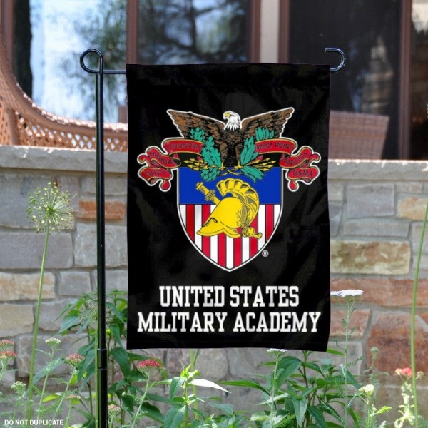 United States Military Academy Garden Flag is 13x18 inches in size, is made of 2-layer polyester, screen printed Army athletic logos and lettering. Available with Same Day Express Shipping, Our United States Military Academy Garden Flag is officially licensed and approved by United States Military Academy.