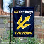University California San Diego Tritons Garden Flag