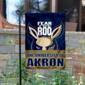 University of Akron Garden Flag