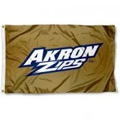 University of Akron Zips Gold Flag
