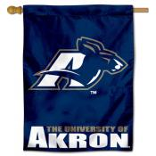 University of Akron Zips House Flag