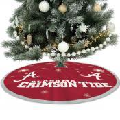 University of Alabama Crimson Tide Christmas Tree Skirt