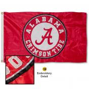 University of Alabama Nylon Embroidered Flag