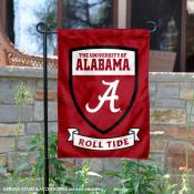 University of Alabama Roll Tide Shield Garden Flag