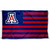 University of Arizona Stripes Flag