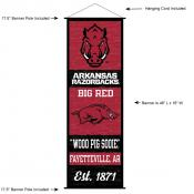 University of Arkansas Decor and Banner
