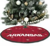 University of Arkansas Razorbacks Christmas Tree Skirt