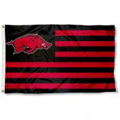 University of Arkansas Striped Flag