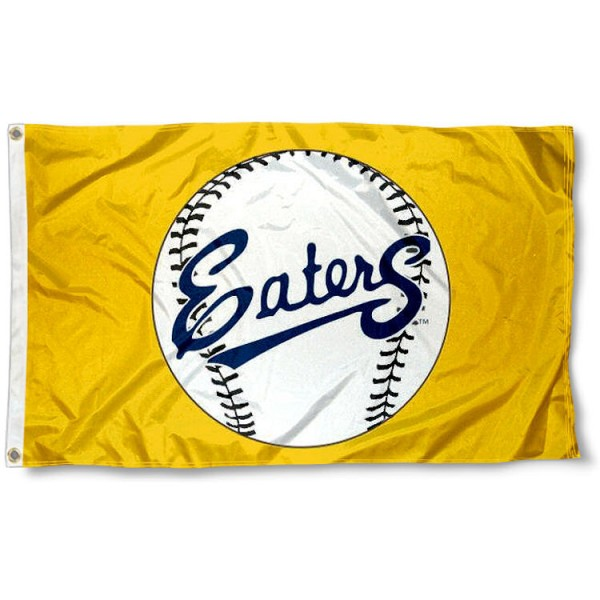 University of California Irvine Baseball Flag measures 3'x5', is made of 100% poly, has quadruple stitched sewing, two metal grommets, and has double sided Team University logos. Our University of California Irvine Baseball Flag is officially licensed by the selected university and the NCAA.