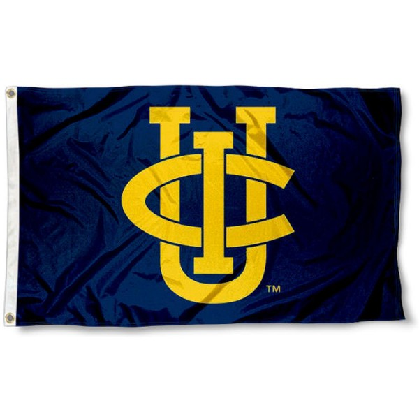 University of California Irvine Flag measures 3'x5', is made of 100% poly, has quadruple stitched sewing, two metal grommets, and has double sided UCI Anteaters logos. Our University of California Irvine Flag is officially licensed by UCI Anteaters and the NCAA.