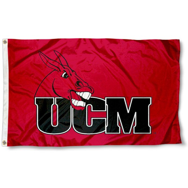 University of Central Missouri Flag measures 3'x5', is made of 100% poly, has quadruple stitched sewing, two metal grommets, and has double sided University of Central Missouri logos. Our University of Central Missouri Flag is officially licensed by the selected university and the NCAA