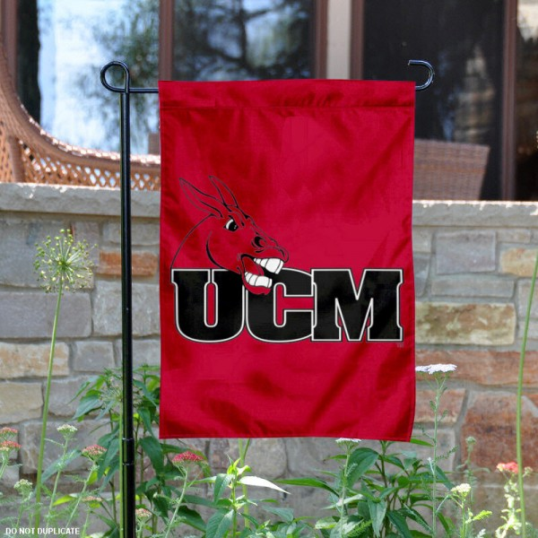 University of Central Missouri Garden Flag is 13x18 inches in size, is made of 2-layer polyester, screen printed University of Central Missouri athletic logos and lettering. Available with Same Day Express Shipping, Our University of Central Missouri Garden Flag is officially licensed and approved by University of Central Missouri and the NCAA.