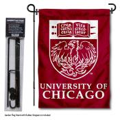 University of Chicago Garden Flag and Stand