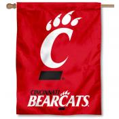 University of Cincinnati Banner Flag