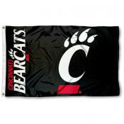 University of Cincinnati Bearcats 3x5 Flag