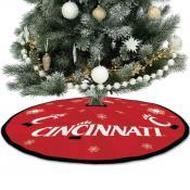 University of Cincinnati Bearcats Christmas Tree Skirt