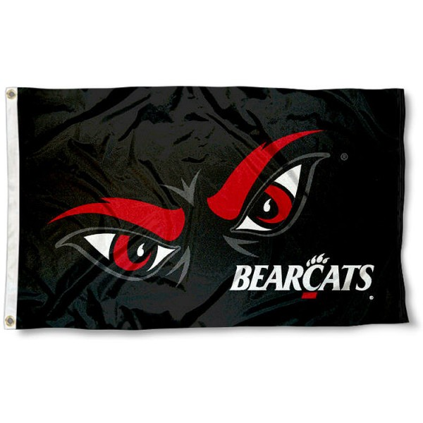 University of Cincinnati Bearcats Logo Flag