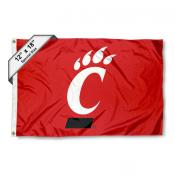 University of Cincinnati Mini Flag