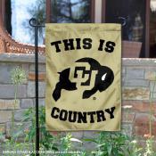 University of Colorado Country Garden Flag