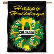 University of Colorado Holiday Flag