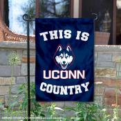 University of Connecticut Country Garden Flag