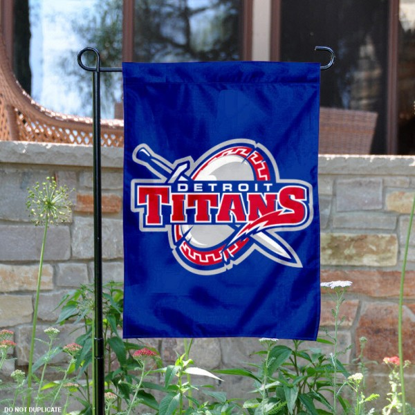 University of Detroit Mercy Garden Flag is 13x18 inches in size, is made of 2-layer polyester, screen printed University of Detroit Mercy athletic logos and lettering. Available with Same Day Express Shipping, Our University of Detroit Mercy Garden Flag is officially licensed and approved by University of Detroit Mercy and the NCAA.