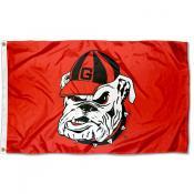University of Georgia Bulldog Flag