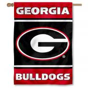 University of Georgia Bulldogs 2-Sided Home Flag