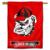 University of Georgia Bulldogs Decorative Flag