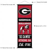 University of Georgia Decor and Banner