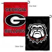 University of Georgia Double Logo Garden Banner Flag
