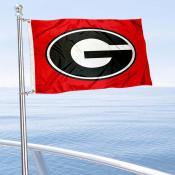 University of Georgia Golf Cart Flag