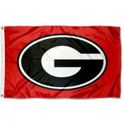 University of Georgia Polyester Flag