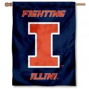 University of Illinois Banner Flag