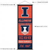 University of Illinois Decor and Banner